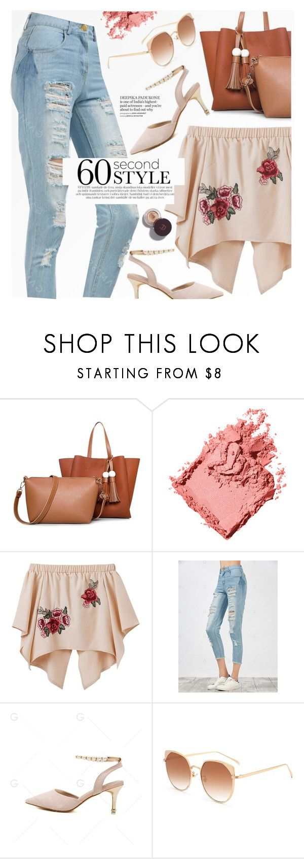"""60 seconds style"" by yexyka ❤ liked on Polyvore featuring Bobbi Brown Cosmetics"