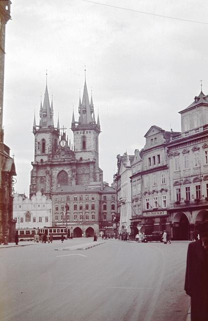cca 1942 Praha Staroměstské náměstí
