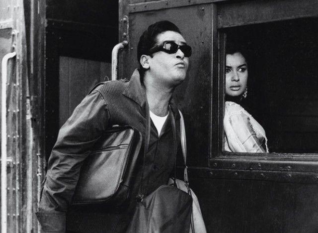 Shammi Kapoor and Asha Parekh.