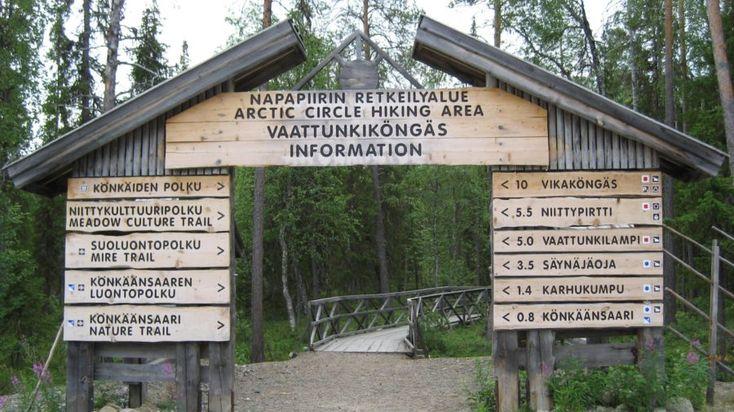 Hiking trip to landscape tower in Rovaniemi -Rovaniemi, Lapland, Finland