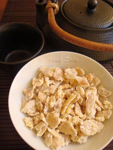 Gengibre cristalizado e bolo para comemorar » NacoZinha - Blog de culinária, gastronomia e flores - Gina