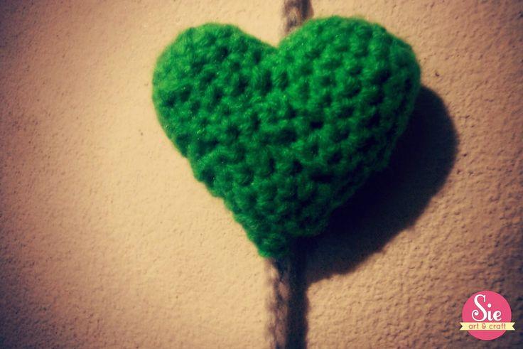 corazón de crochet ♥