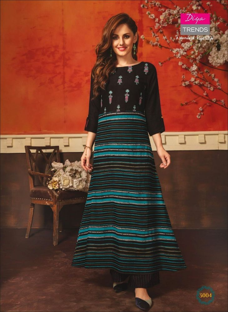 Clothing, Shoes & Accessories Trend Mark Indian Women Kurta Kurti With Palazzo Dress Top Tunic Set Solid Combo Ethnic New Available In Various Designs And Specifications For Your Selection Other Women's Clothing