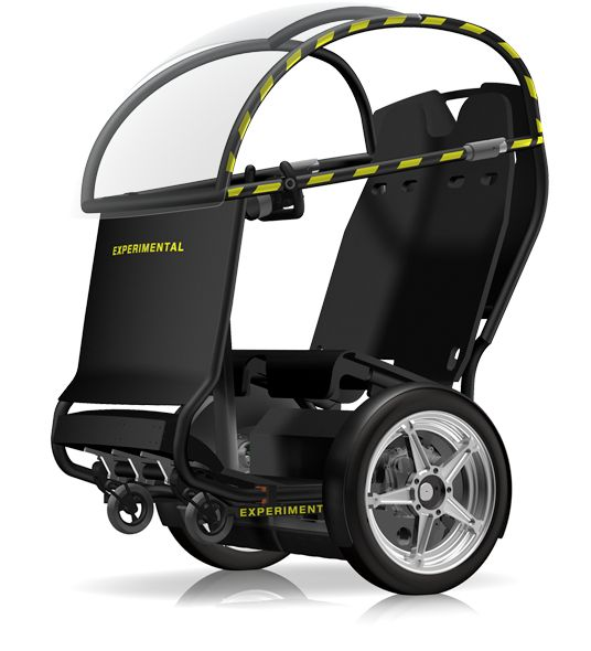 Segway's P.U.M.A. (Personal  Urban Mobility & Accessibility) prototype represents the shift that's needed for the future of transportation.