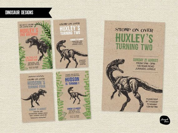 This cute and personalised birthday invitation is great for all ages and those who love dinosaurs. Personalise yours by providing us with your childs name, age and party details, and we will then create your personalised invitation just for you! $15 each for printable file Your personalised print will be designed as a 6x4size, suitable for C6 envelopes.  If you wish to purchase the invitations as printed pieces, please contact us and we can create a listing just for you. If you purchase the…