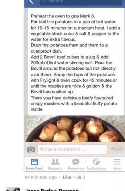 Oxo Roast Potatoes