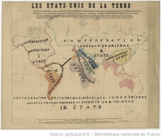 Les Etats Unis de la terre. Fin de la féodalité politique internationale...... Publiée par l'Académie rénovatrice universelle,... septembre 1903