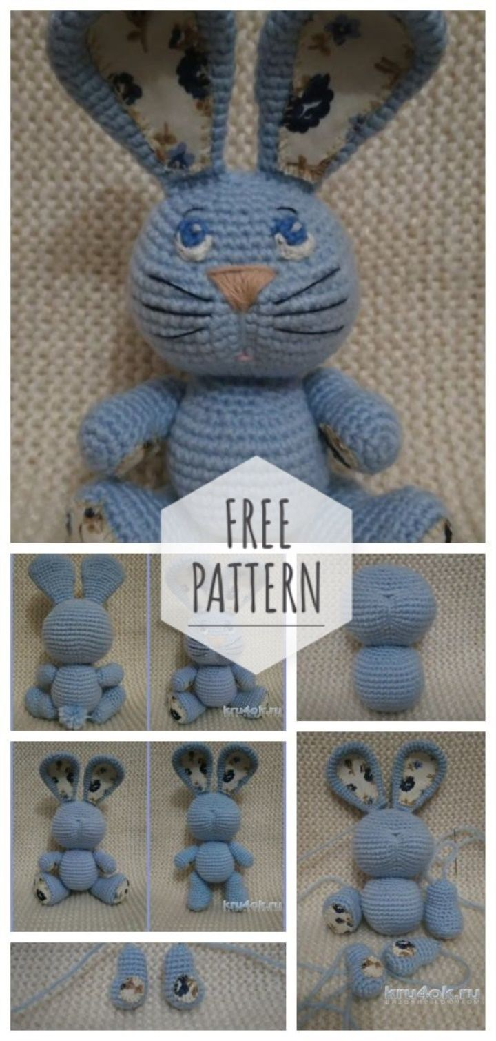 Toy Hare Crochet Amigurumi Amigurumi