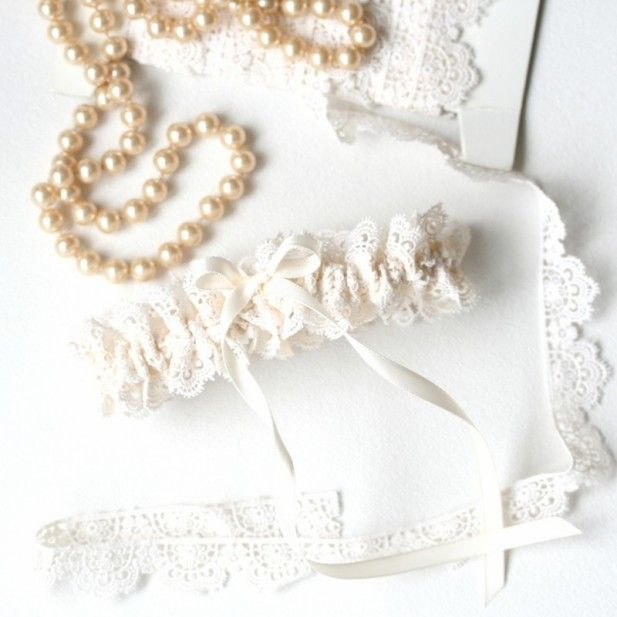 Tradition Of Wedding Garter: Something Lacey! Re-think The Bridal Garter Tradition With