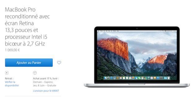 Refurb : des baisses de prix sur les MacBook, MacBook Air et MacBook Pro | MacGeneration