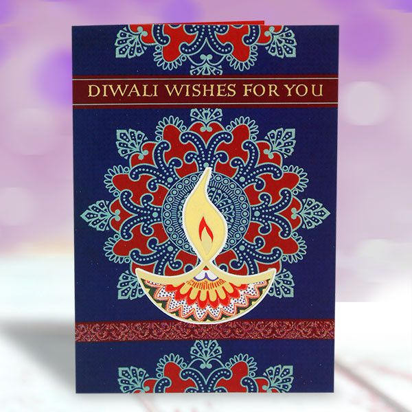 Card For Wishing Diwali Diwali Wishes For You Wishing you a day filled with all the things that make your heart smile. Enjoy the treasure of this festival and the company of dear ones. Have A Happy Diwali And Happy New Year. length : 17 cm Height : 26 cm. Rs 95 : http://hallmarkcards.co.in/collections/diwali-greetings/products/card-for-wishing-diwali
