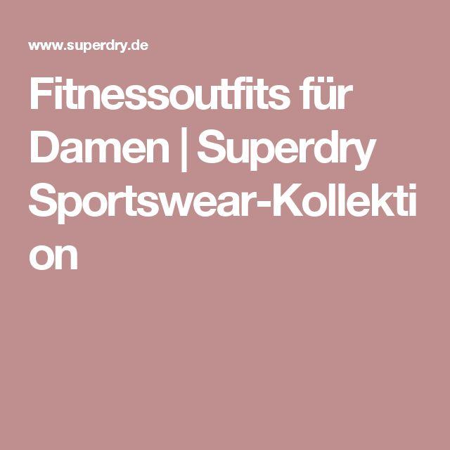 Fitnessoutfits für Damen | Superdry Sportswear-Kollektion