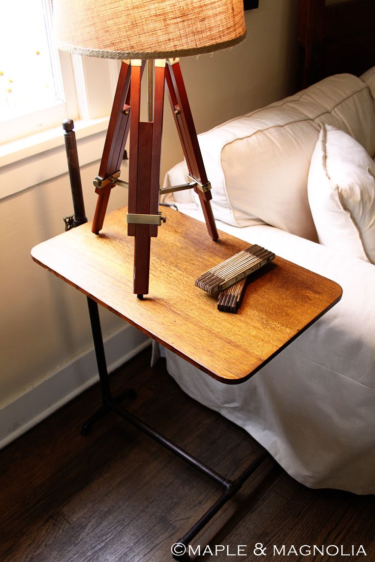 Diy overbed table - Vintage Hospital Table Wonder If This Could Be Diy D With Plumbing