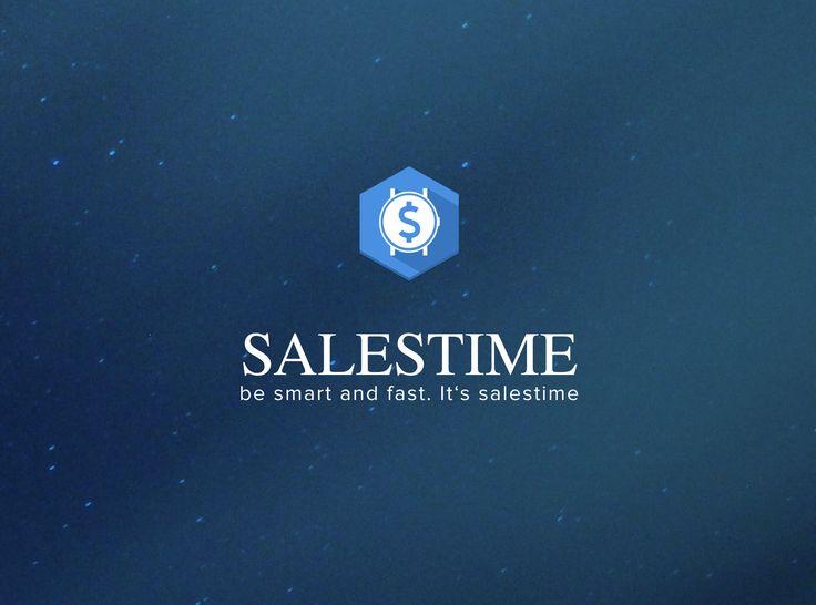logo | salestime | business app | app icon | appcom