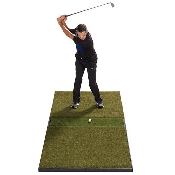 Fiberbuilt Launch Monitor Studio Golf Mat In 2020 Golf Mats Golf Simulators Golf