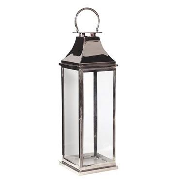 Tall Chrome Floor Lantern Bathrooms Pinterest