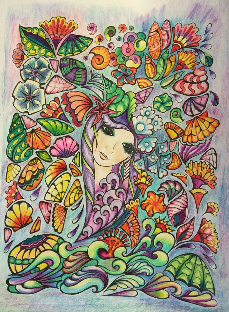 The 63 best Face images on Pinterest | Adult coloring, Coloring ...