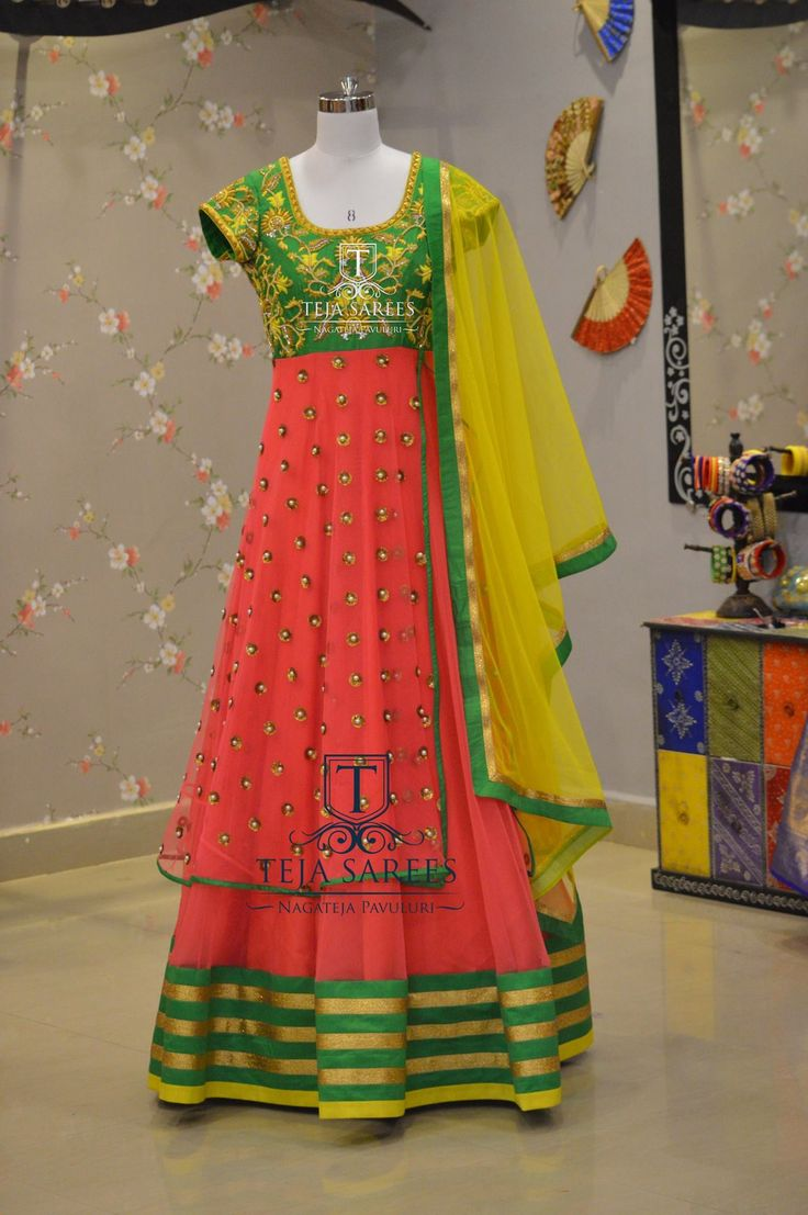 TS-DS- 386Available For orders/querieswhatu2019s app us on8341382382 orCall us @8790382382Mail us tejasarees@yahoo.com LikeNeverBefore Tejasarees Newdesigns icreate dresses tejaethnicstudio hyd floorlengths partywear tejupavuluriStay Amazed!!Team Teja!! 05 January 2017