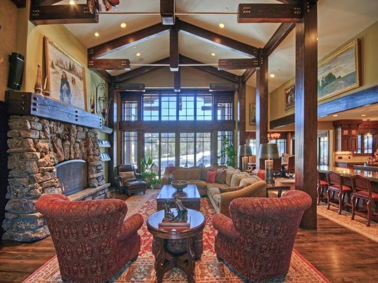 Majestic Mountain Craftsman Home