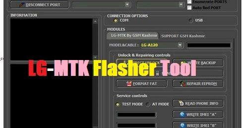 DownloadLG MTK Flasher Tool Feature: All LG Mtk Flashing All LG MTK
