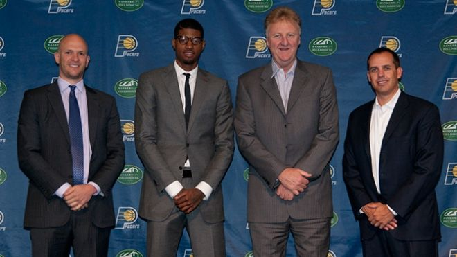In September of 2013, Paul George signed a multi-year contract extension with the Pacers.