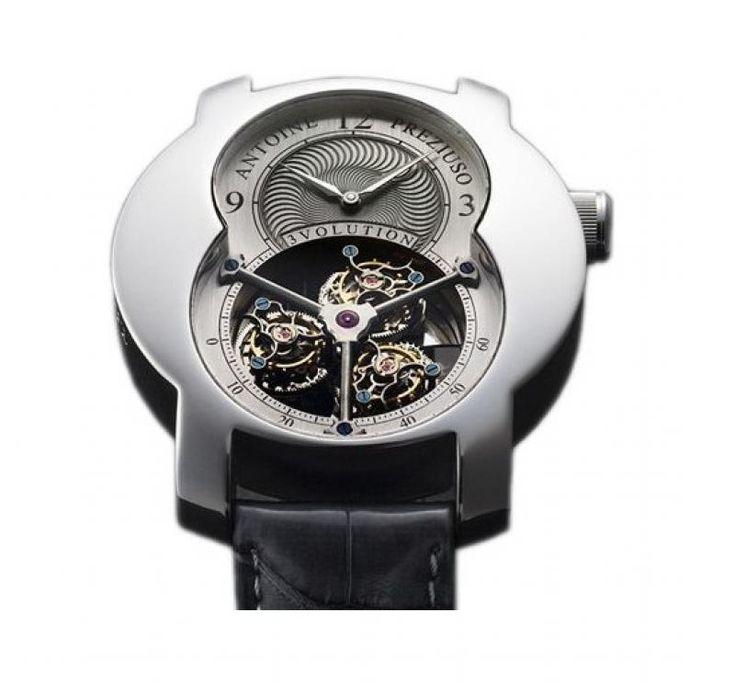 Часы Antoine Preziuso 3volution I Croco Tourbillons Platinum