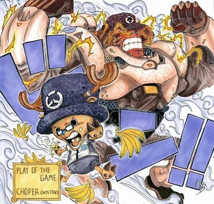 One Piece x Overwatch - Album on Imgur