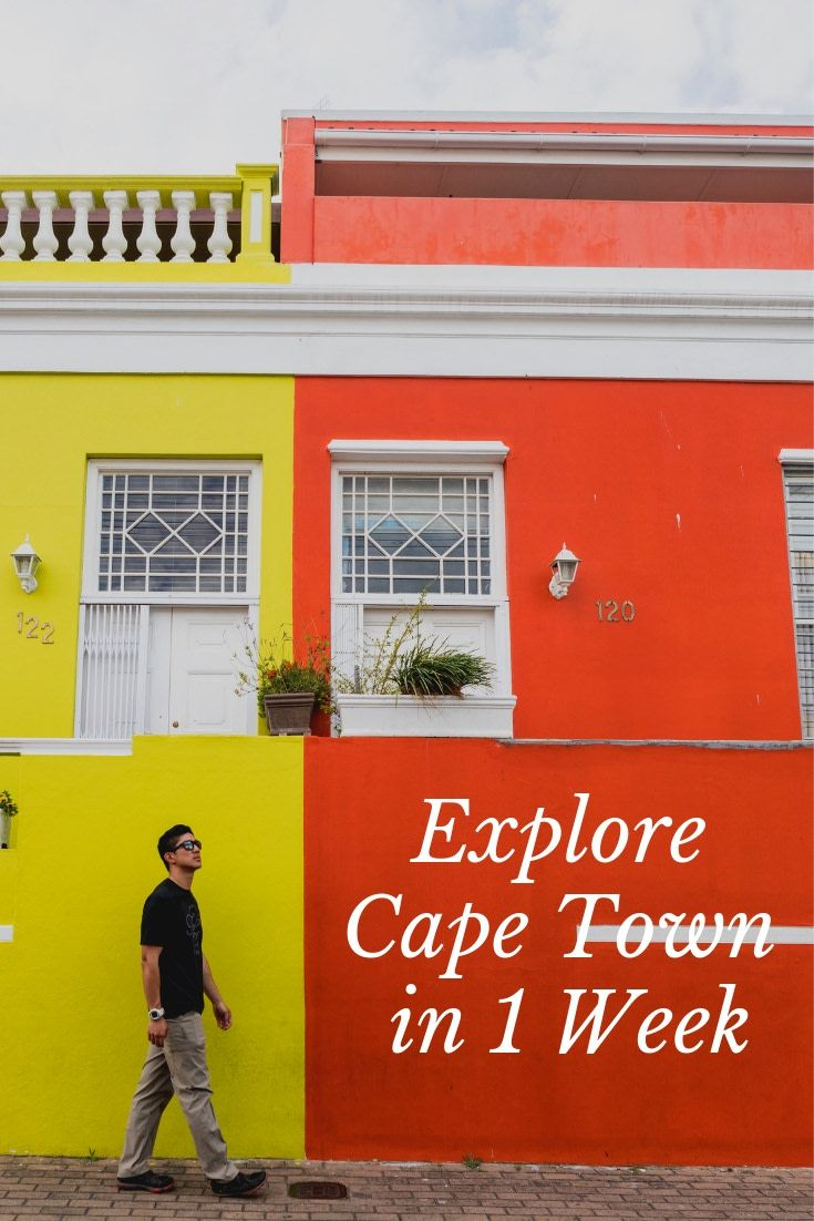 1 Week In Cape Town Itinerary What To See Do Eat And Stay Africa Travel Cape Town Itinerary Africa Travel Beautiful Places