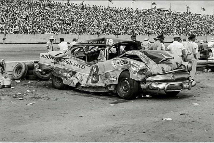 Bristol Motor Speedway Ledgens Car Crash