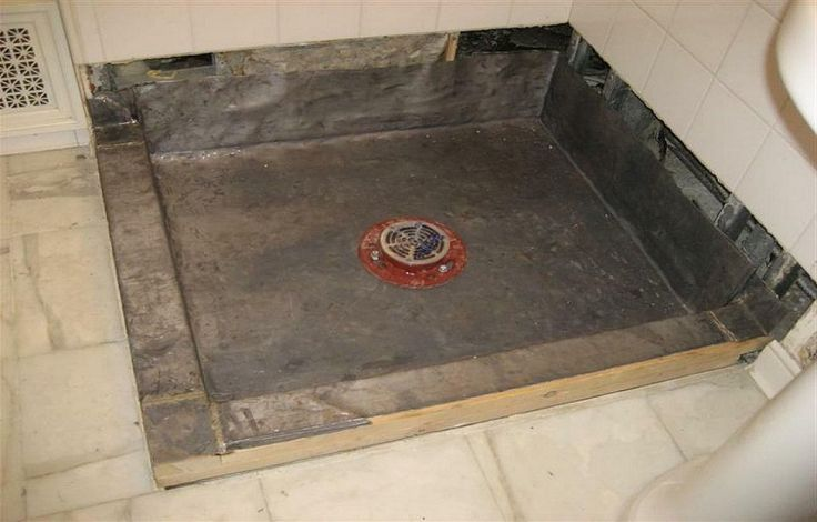 12 Best Images About Shower Pan Installation On Pinterest