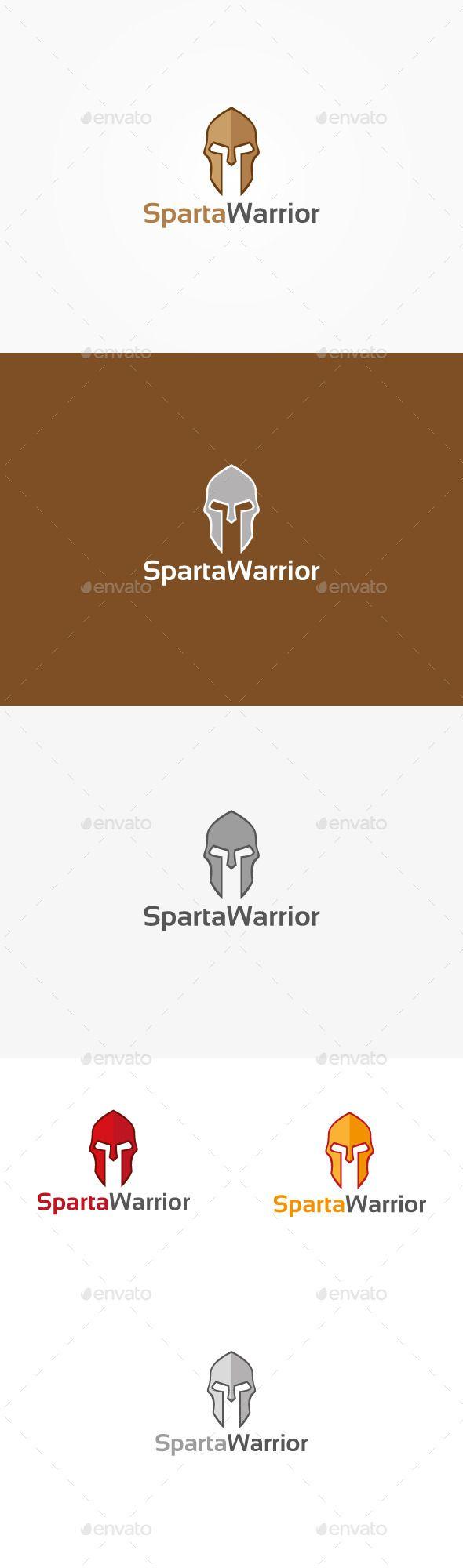 Sparta Warrior Logo — Vector EPS #protector #helmet • Available here → https://graphicriver.net/item/sparta-warrior-logo/9945586?ref=pxcr