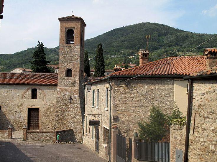 arquà petrarca   E2 E – Arqua´ Petrarca, ville, giardini all´Italiana e labirinti.