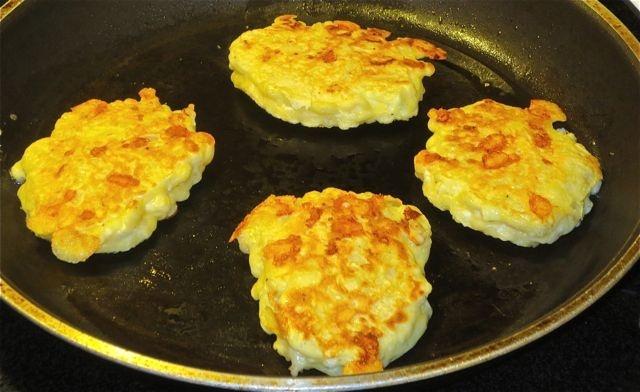 Cauliflower & Cheese Patties