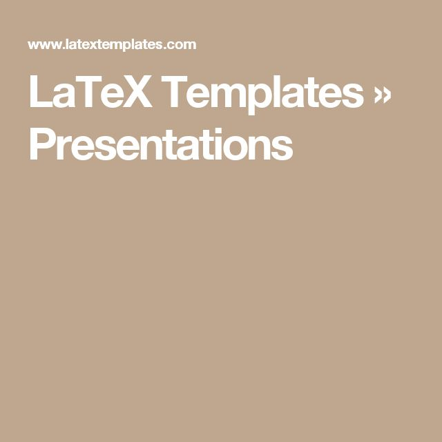 22 best Latex Templates images on Pinterest Resume templates - resume title page