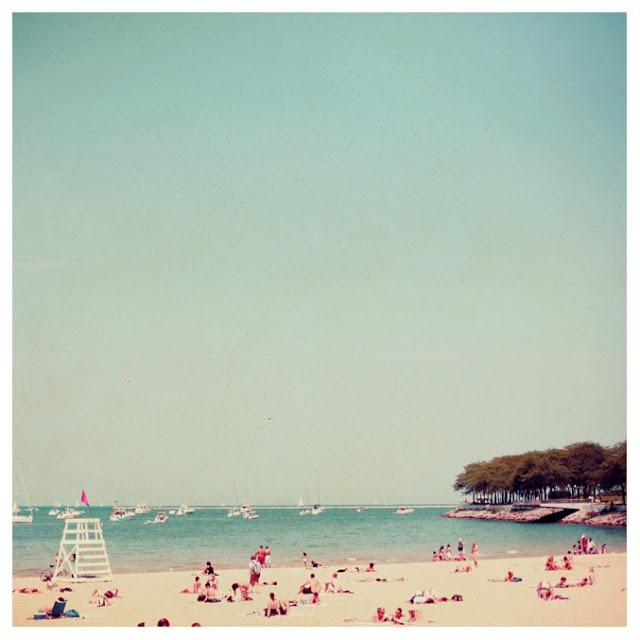 vintage beach photo <3