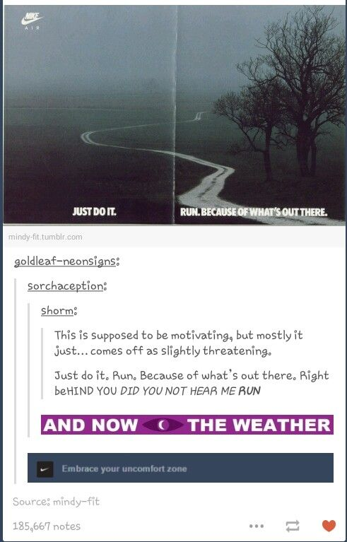 And now, the weather.