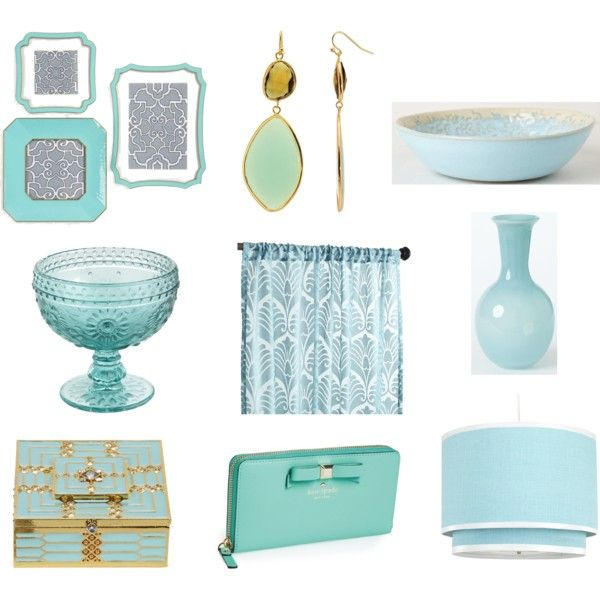"""Nairobi Blue Accessories"" by blue11interiors on Polyvore"