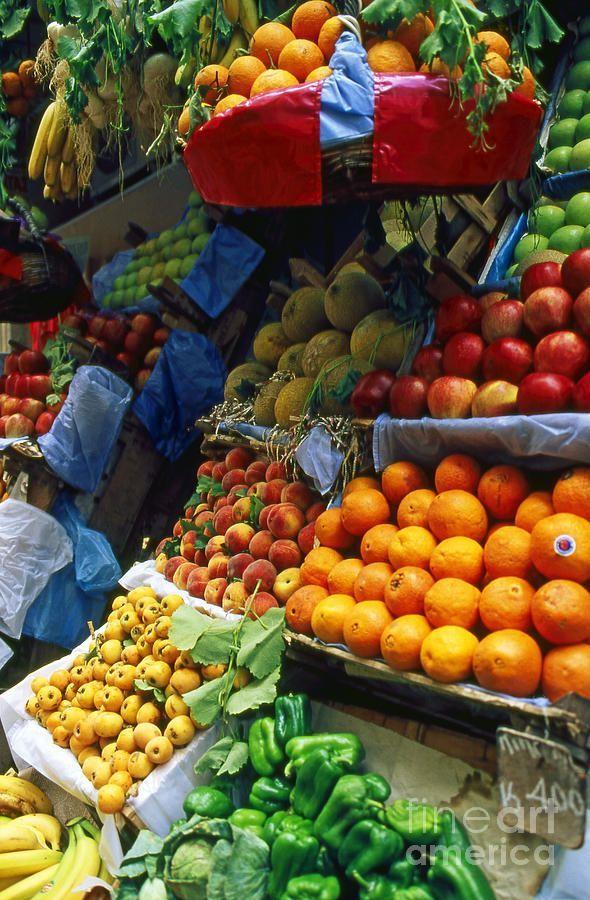 Fruit & Veg Market, Corfu, Greece