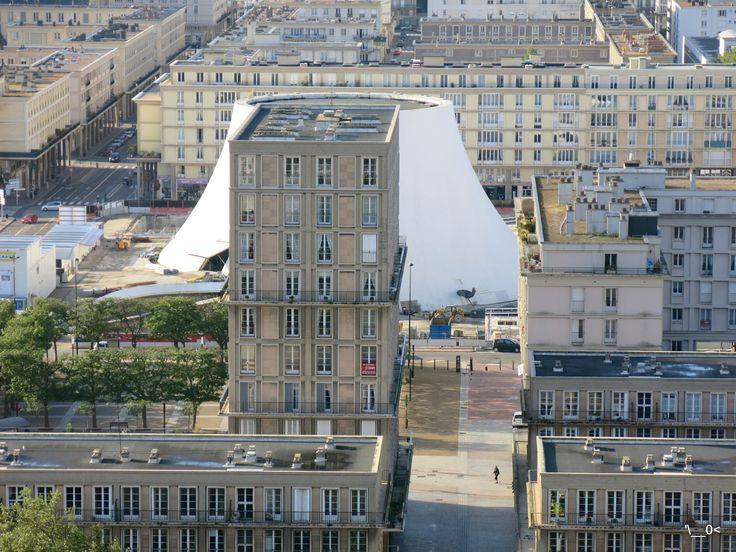 JEP2013 - Hôtel-de-Ville - Du haut de la Tour - Niemeyer / Perret