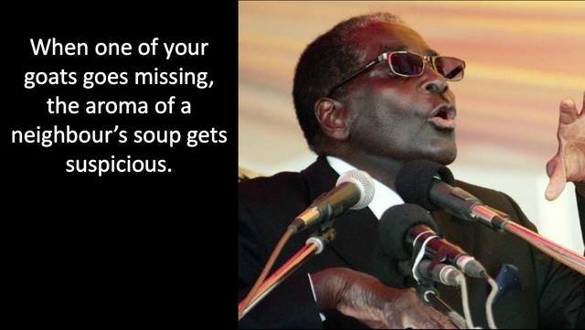 Whoops Presidential Quotes Mugabe Quotes Rastafari Quotes