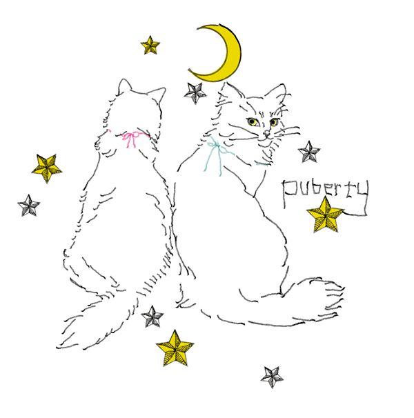 """Takakoillust """"puberty cat'' on Behance"""