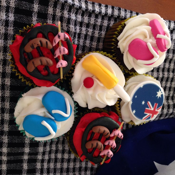 Made by Qween of Cakes for our Aussie Day party!!