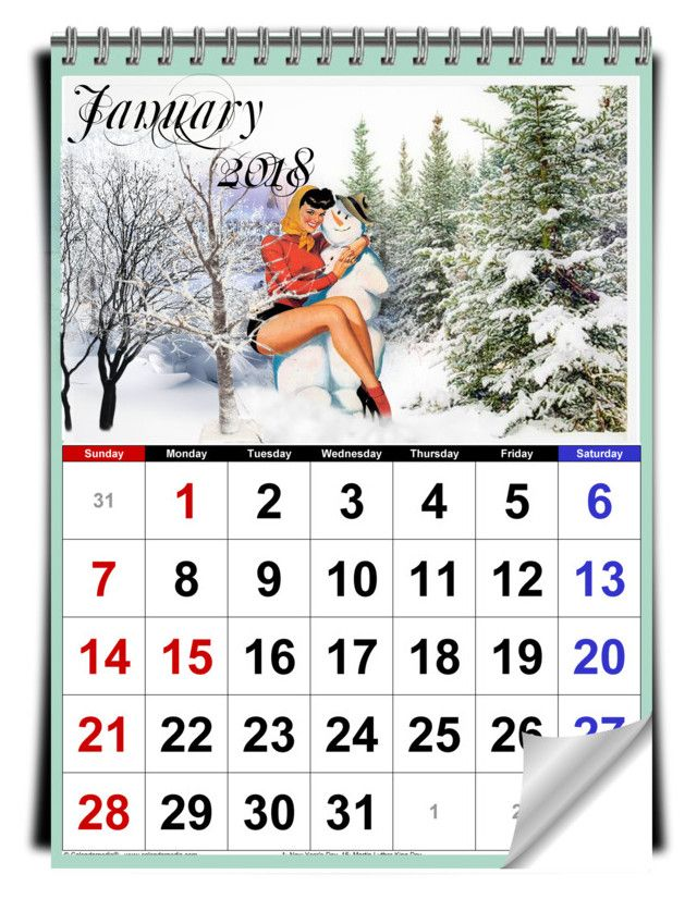 January Calendar Girl : Best january calendar ideas on pinterest