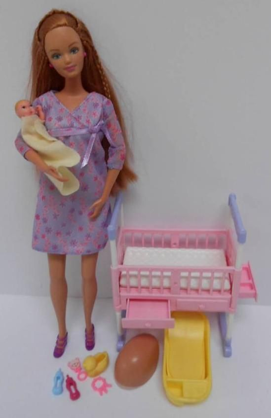 Pregnant barbie doll