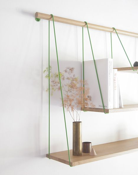 Shelves by Outofstock - could easily be re-imagined as a DIY project