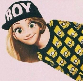 Les princesse Disney version swag