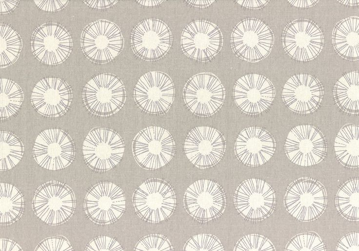 Distinctive Sewing Supplies - Japanese Cotton Canvas Print - Spiky Circles Light Grey, $14.99 (http://www.distinctivesewing.com/japanese-cotton-canvas-print-spiky-circles-light-grey/)