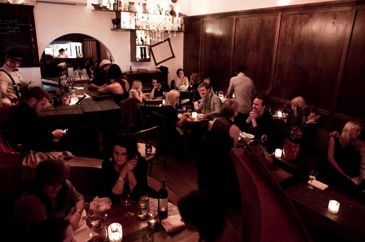 The Rum Diaries restaurant in Bondi has a clandestine appeal with many of the tables made out of old wooden doors and crates giving the rooms a chic shipwrecked effect. Walls are lined with candles and bottles of rum, and a chandelier dangles daintily from the ceiling telling tales of another world.