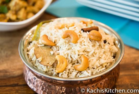 Baked Basmati Rice recipe,made in a clay pot, makes rich and flavorful rice side dish to accompany any meal.