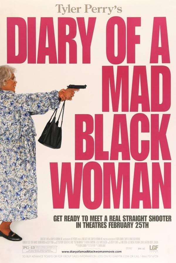 Diary Of A Mad Black Woman 2005 Original One Sheet Movie Poster